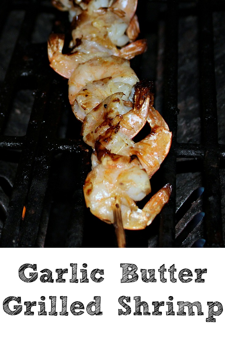 Garlic Butter Grilled Shrimp Skewers are the perfect shrimp grilling recipe to make up! Easy to make and they taste amazing when they come off the grill!