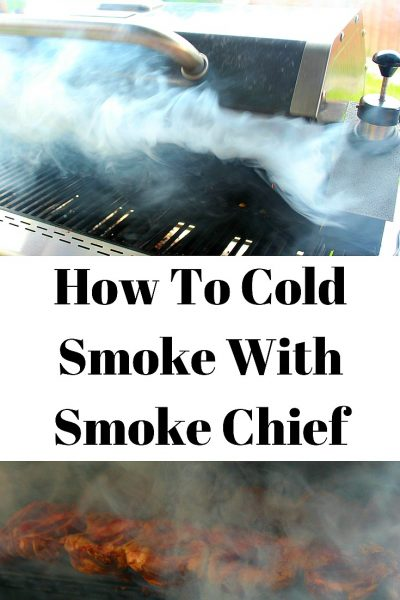 How To Cold Smoke With Smoke Chief