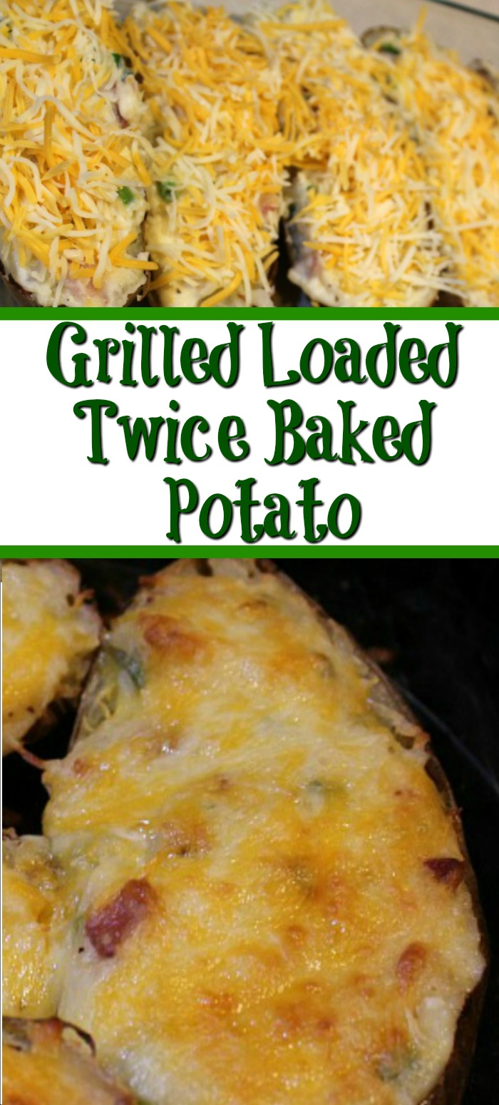 Nothing beats potatoes on the side, but even better if you can grill them!! These Grilled Loaded Twice Baked Potatoes are perfect to make for any meal but pair up amazing with beef, they are also full of flavor as well.