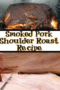 This Easy Pork Shoulder Roast Recipe is perfect to make for a weekend dinner!! Plus the homemade rub and injection add so much flavor!