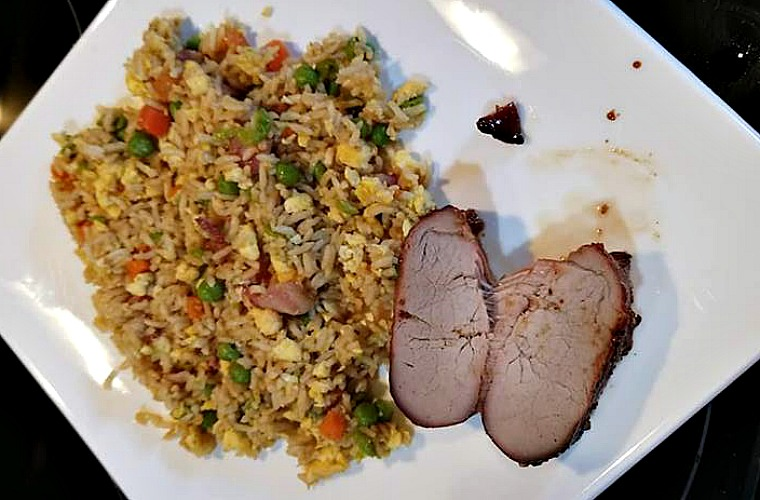 Grilled Teriyaki Pork Tenderloin Recipe is a great way to have Chinese at home with a fun twist on it! Pair up with fried rice for a great home dinner.