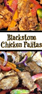 These Blackstone Griddle Chicken Fajitas Recipe are one of the easiest ways to make fajitas at home! The perfect way to have Mexican out home that's better than takeout!