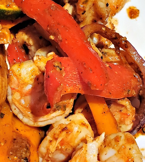 These Blackstone Griddle Shrimp Fajitas Recipe are one of the easiest ways to make fajitas at home! The flavor is amazing with this homemade mix.