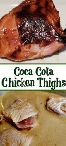 Coca Cola Chicken Thighs are perfect for any weeknight dinner to grill up or smoke! Use a Coca Cola Brine to add more flavor to the chicken.