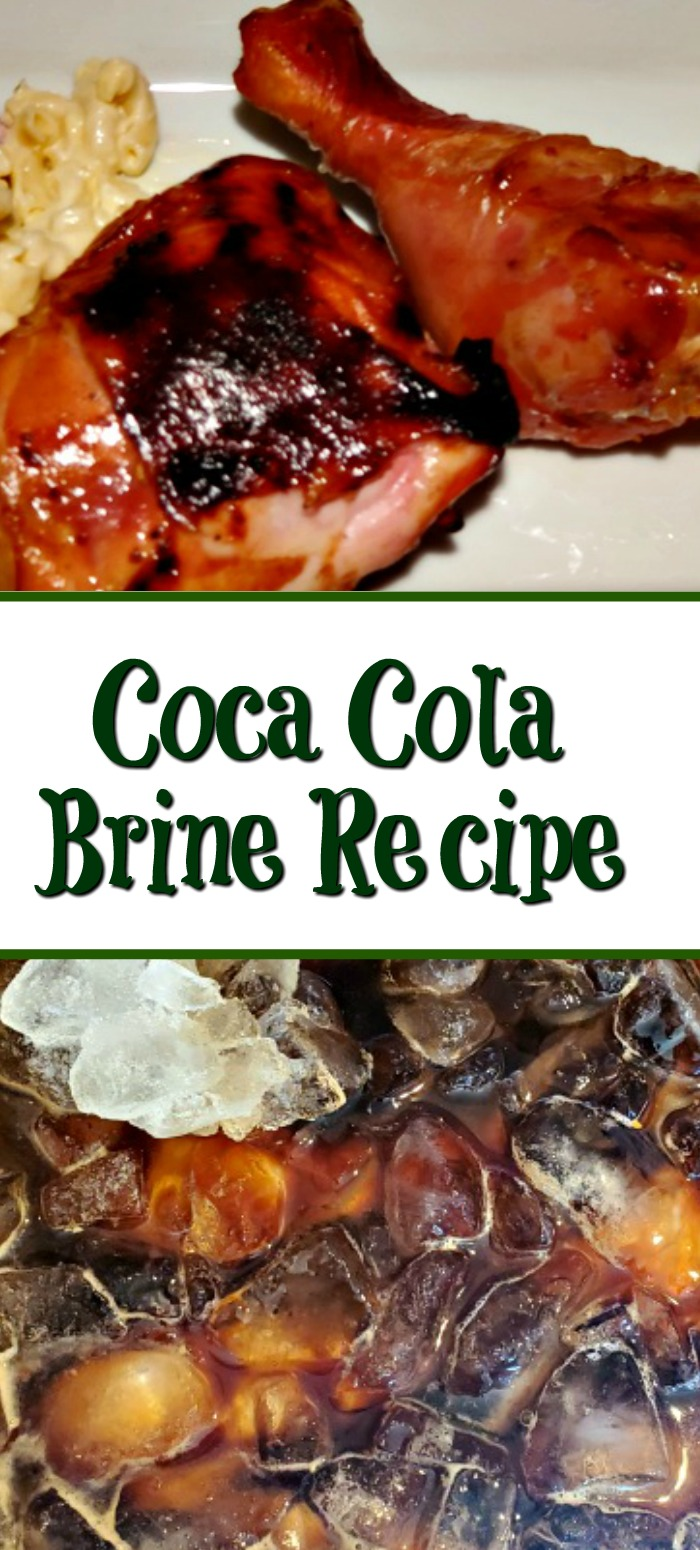 This Easy Coca Cola Brine Recipe is perfect for summer bbq! The Coca Cola adds so much flavor and also tenderizes tough cuts of meat as well!