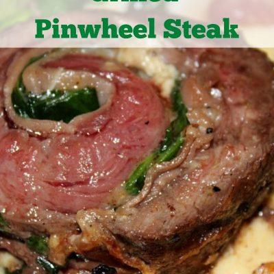 Grilled Flank Steak Pinwheels