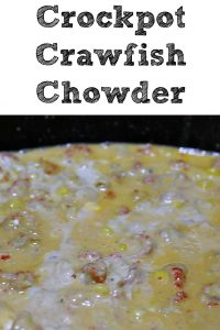 This Crockpot Crawfish Chowder is so easy to make up! It can be intimidating to know how to to cook Crawfish, but this recipe is easy to make, and full of amazing flavors that will be the hit of the get together! The aroma alone will pull everyone to the table as well!