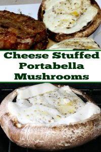 This Cheese Stuffed Portabella Mushrooms Recipe is easy to make up and sure to be a hit at any bbq! Just a couple of ingredients serve up a tasty Appetizer.