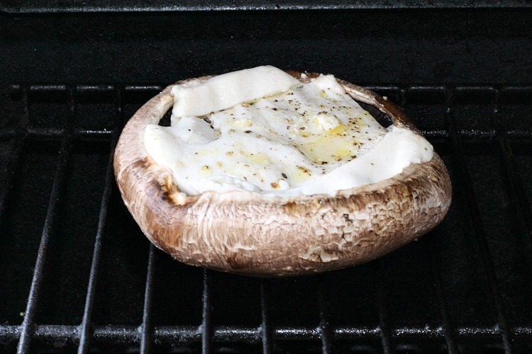 Cheese Stuffed Portabella Mushrooms Recipe