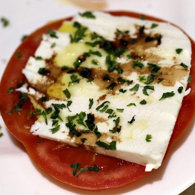 Easy Tomato Caprese Appetizer Recipe