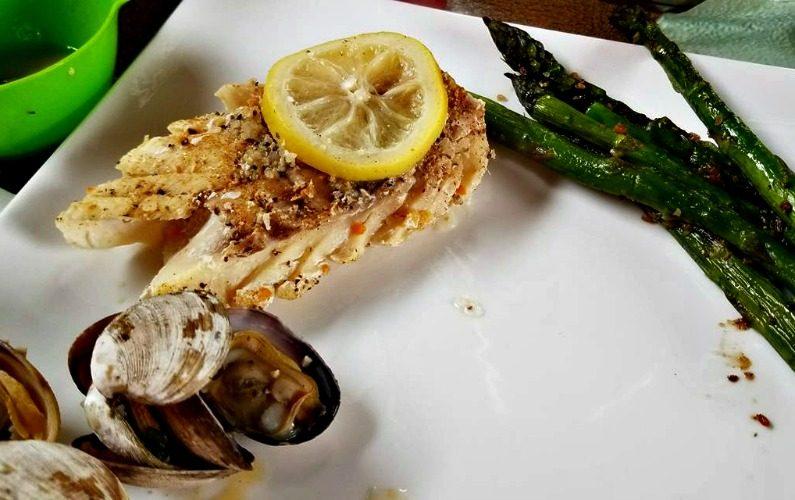 Grilled Cod In Foil Recipe