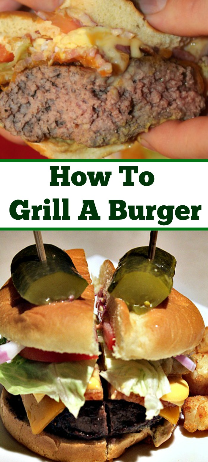 How To Grill A Burger Perfectly Every Time! Using a burger press helps to ensure a good shape but little steps will help you to make a perfect burger!