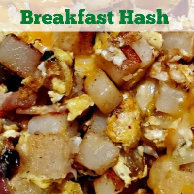 Blackstone Breakfast Hash Recipe can be made out of anything for breakfast! Potatoes, sausage, bacon, eggs, cheese, vegetables, and other possibilities!