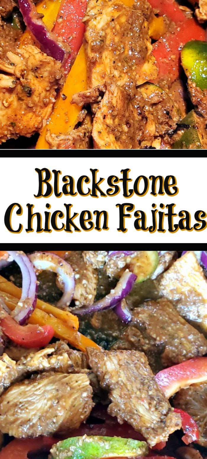 Blackstone Griddle Chicken Fajitas Recipe