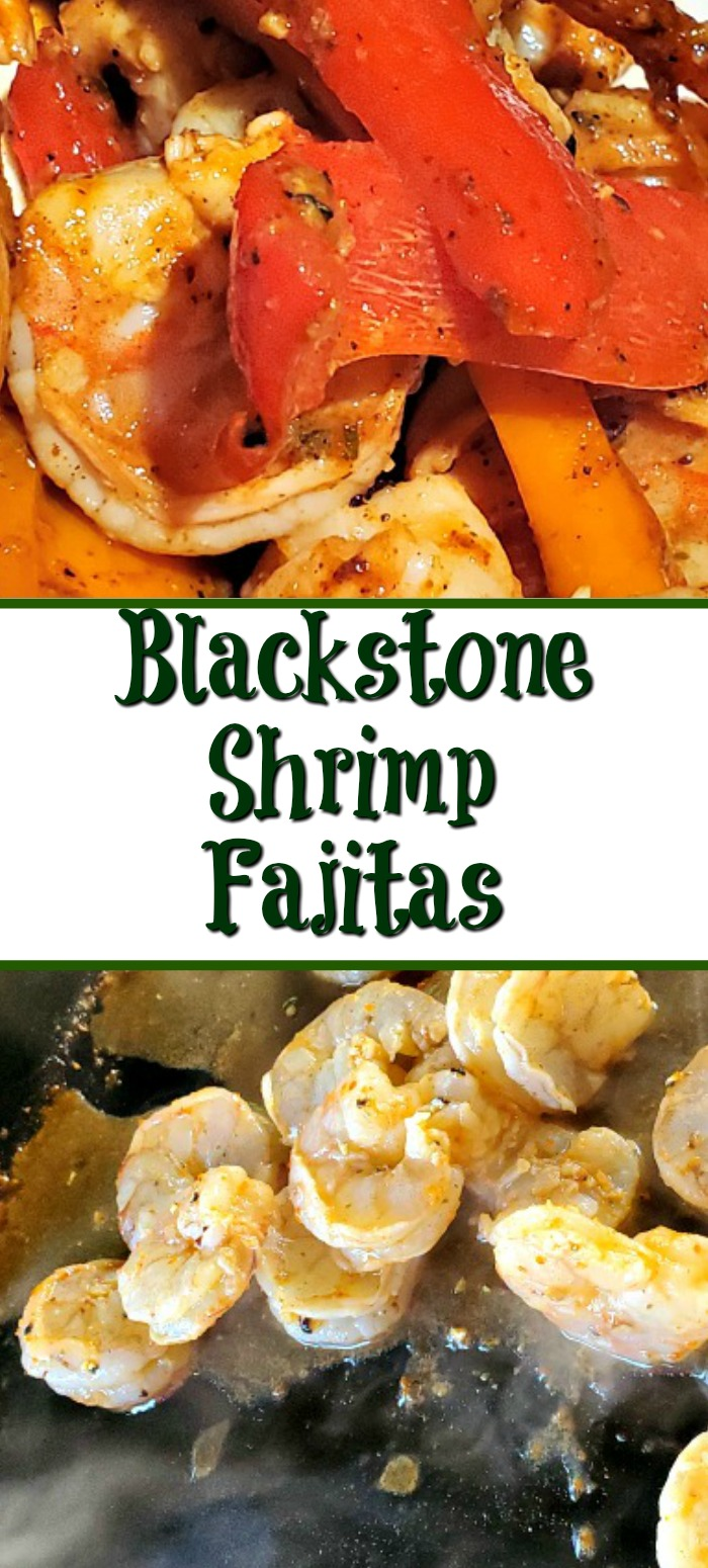 Blackstone Griddle Shrimp Fajitas Recipe