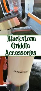 Must Have Blackstone Griddle Accessories are perfect to improve on your grilling experience with a Blackstone Griddle! Covers, kits, seasonings, and more.