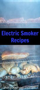 An electric smoker makes for the perfect backyard cookout appliance! These Electric Smoker Recipes are prefect for getting started or for the smoking pro.