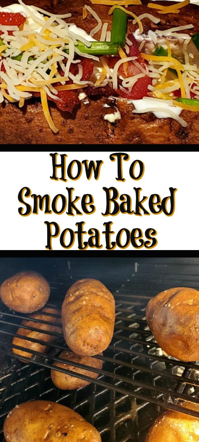 How To Smoke Baked Potatoes