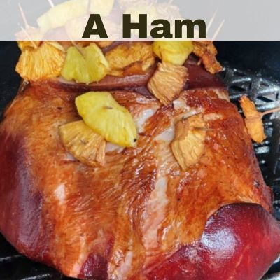 Smoked ham is the perfect main dish to make for holiday dinners! How To Smoked Ham is actually really easy and very few ingredients to make it as well!