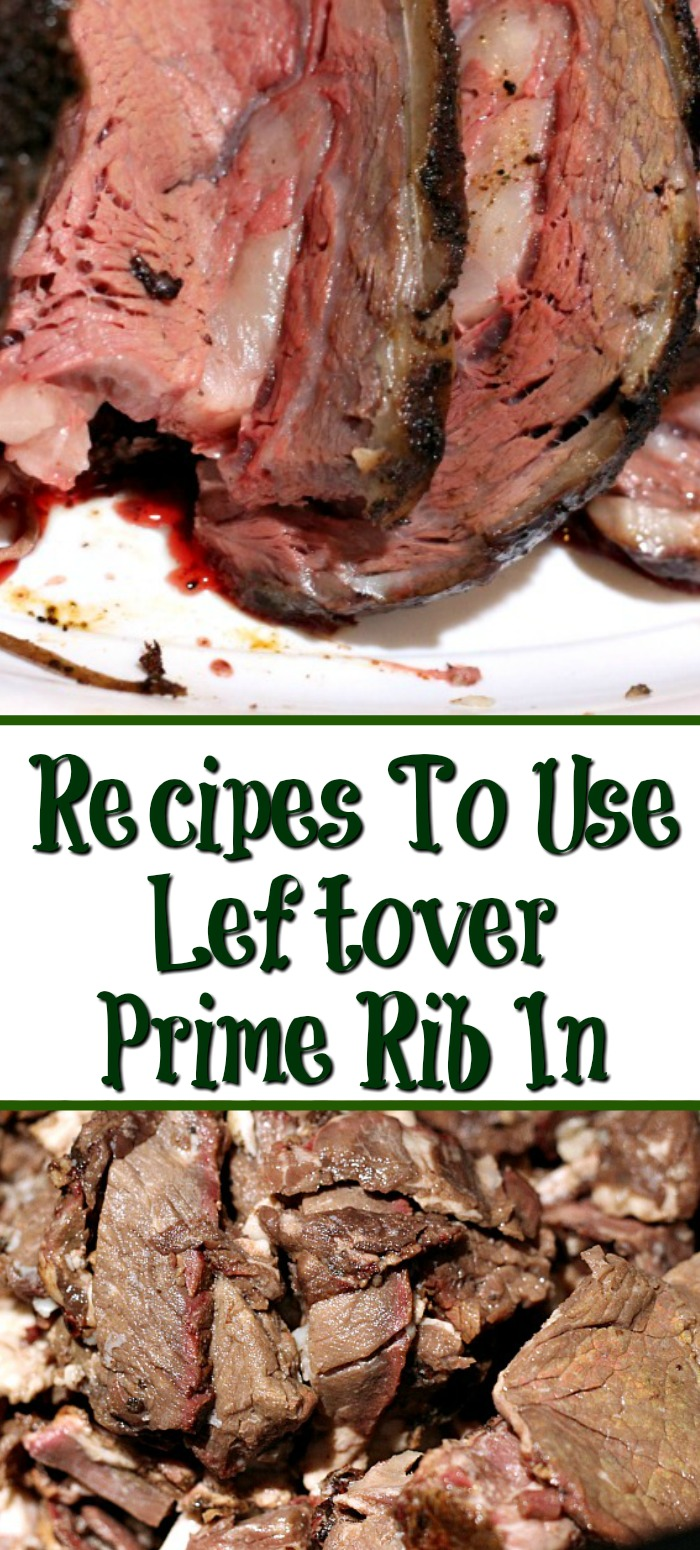 Leftover Prime Rib makes some of the best next day meals! Leftover Prime Rib Recipes make for filling dinners and lunches out of holiday dinner leftovers.