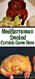 This Mediterranean Smoked Cornish Game Hens Recipe is the perfect way to smoke hens! The flavor is amazing from the rub and cold smoking on a pellet grill!