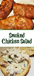 This Smoked Chicken Chicken Salad Recipe is the perfect way to use up leftover smoked chicken! Pair up with good bread to make the perfect sandwich!