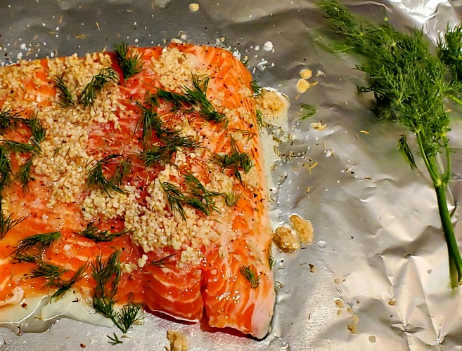 This Smoked Salmon Recipe is perfect to make on your Pitboss Pellet Grill!! The cold smoke adds flavor and then adds more as it cooks low and slow! Use fresh dill, lemon, and cheese to add to flavor!!
