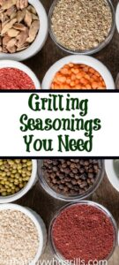 Good Grilling Seasonings are important and can make any cut of meat taste amazing! Use some oil before seasoning then cook on the grill for amazing dinners!