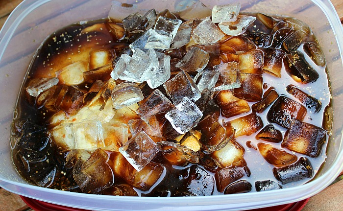 Coca Cola Chicken Leg Quarters are perfect for any get together!! The Coca-Cola brine is perfect to flavor your chicken for smoking!