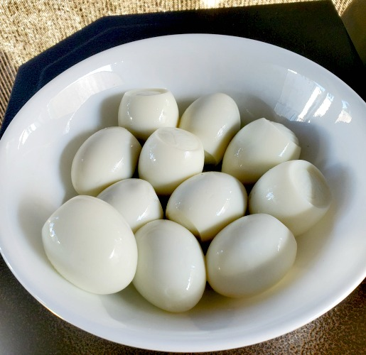 Smoked Hard Boiled Eggs On Pitboss is so easy to make! Hardboil them on the stove and use your smoke setting to add the smokey flavor!