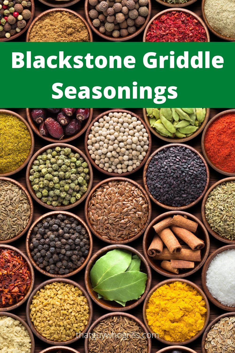 Blackstone Seasonings To Take Your Cooking To The Next Level! Using seasonings is the perfect way to add flavor to any dinner cooked on a Blackstone Griddle!