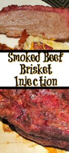 This Smoked Beef Brisket Injection Recipe With Whiskey is the perfect way to add flavor to your beef brisket before smoking it! Add rub for pure perfection! This pairs amazingly with other smoked side dishes or summer potluck dishes as well.