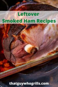 These Leftover Smoked Ham Recipes are the perfect ways to use up leftover smoked ham! Use the ham in food on the Blackstone Griddle, crock pot, or stovetop! The leftover smoked meat from the holiday dinners adds flavor to any dish.
