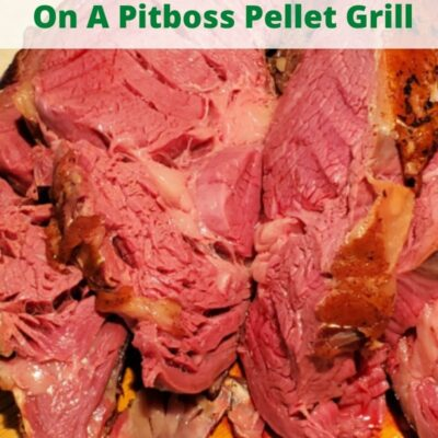 How To Smoke A Prime Rib On A Pitboss Pellet Grill! This will turn out amazing and better than restaurant prime rib! Perfect to make for holiday dinners like Thanksgiving, Christmas, and Easter! Use oil seasoning then smoke it low and slow on your pellet grill.