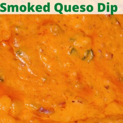 This Pit Boss Smoked Queso Dip Recipe is perfect for Taco Tuesday, Cinco De Mayo, or Nacho night! Use Velveeta cheese, pepper jack, Rotel, cheddar cheese, chorizo, jalapeno, and other add-ins!! This turns out creamy and flavor for an amazing appetizer.