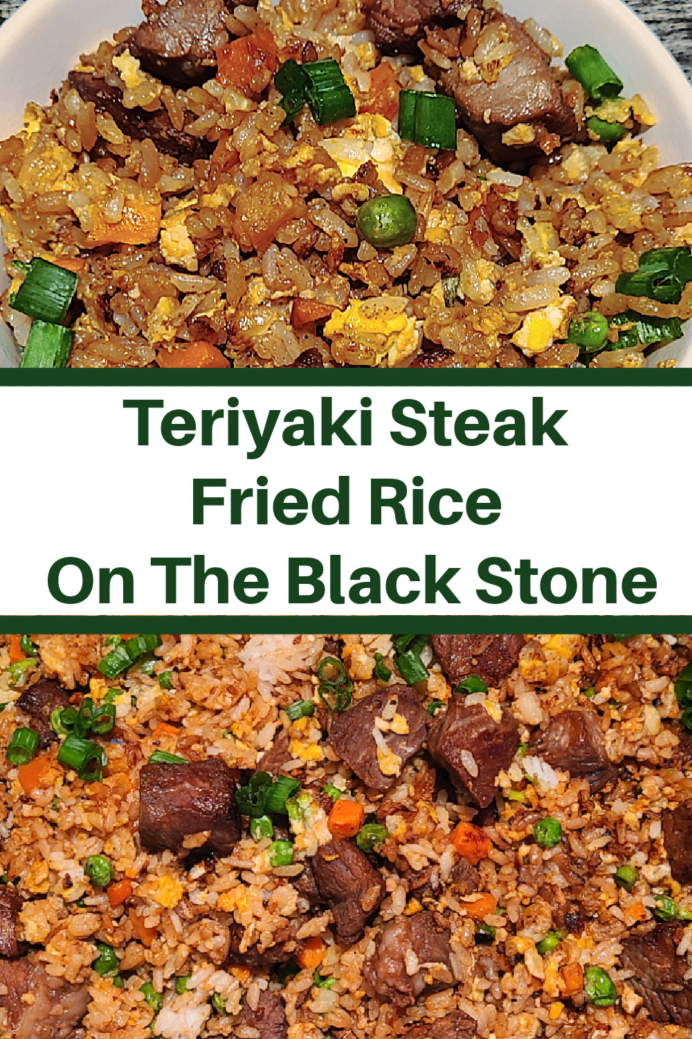 Steak Fried Rice On The Blackstone Griddle