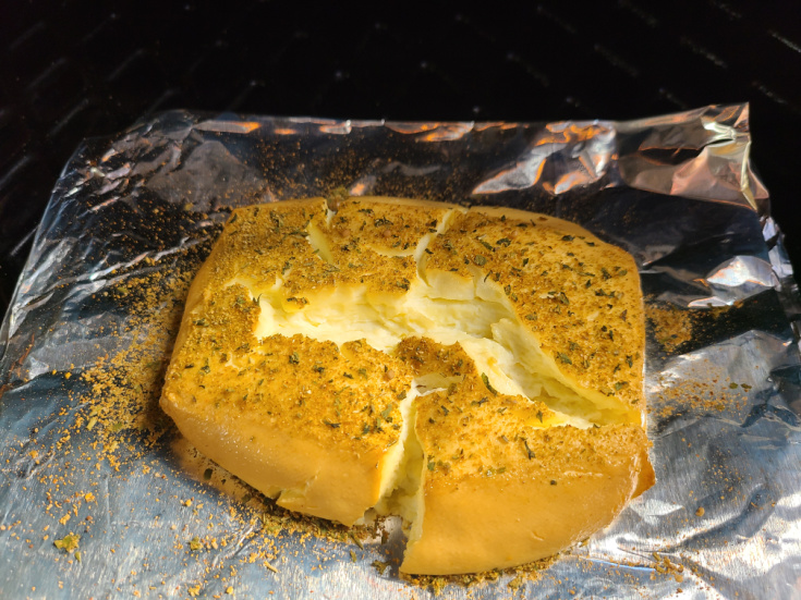 How To Make Smoked Cream Cheese on the Pit Boss! This is such an easy way to make a dip or add flavor to another recipe as well! You can use a variety of spices to change the flavor. This can be eaten as is, on bagels, with crackers, or mixed into chowders or other dips.