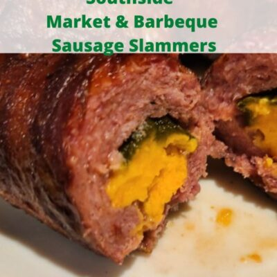 It doesn't get any easier then Southside Market & Barbeque Sausage Slammers! Perfect for tailgating, appetizers, or dinner. Smoke, grill or bake these up!