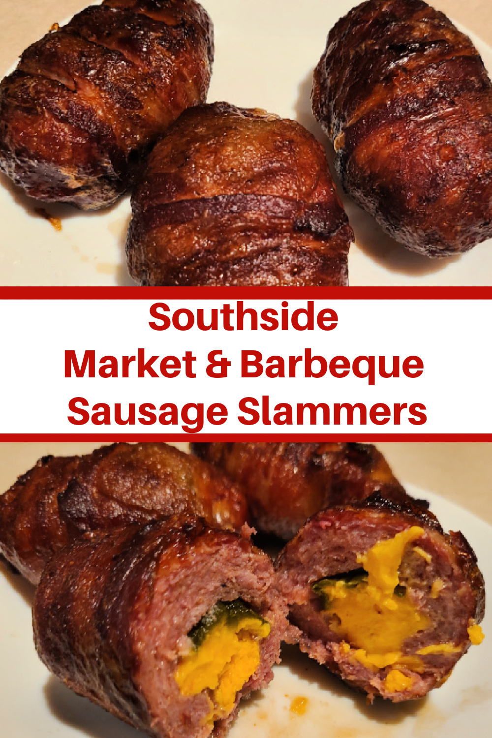 Southside Market & Barbeque Sausage Slammers! Perfect For Tailgating